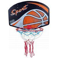 MIKRO 23876 - Koš na basketbal dřevo/ kov 60x42cm v sáčku