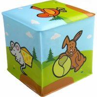 Teddies Kostka - Moje první zvířátka Zvířátkka ze zahrady