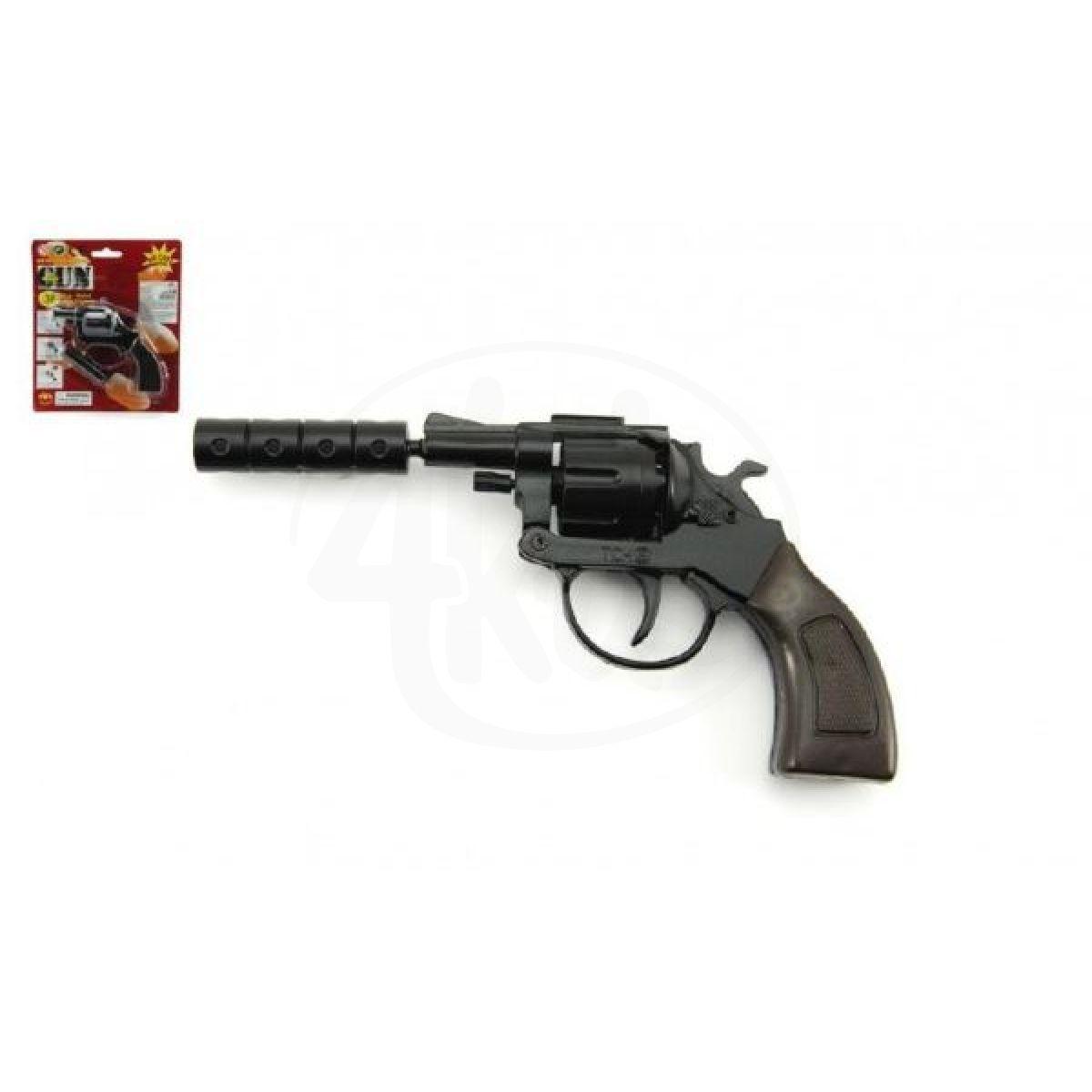 Kovová Pistole na kapsle 8 ran