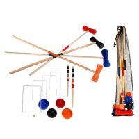 Hra Kroket dřevo v síťce