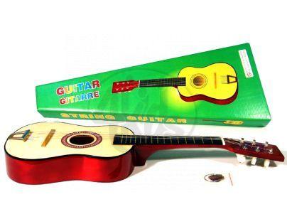 Kytara dřevěná 60 cm v krabičce
