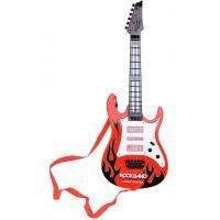 Kytara plastová 54 cm na baterie se zvuky a světly