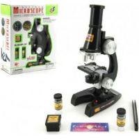 Mikroskop s doplňky na baterie 21cm
