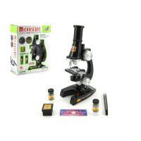 Mikroskop s doplňky plastový 21 cm