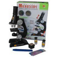 Mikroskop plast 11 x 20 x 7 cm se světlem 2