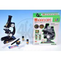 Mikroskop plast 11 x 20 x 7 cm se světlem 3