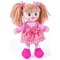 Mluvící panenka hadrová Terezka 30 cm