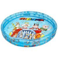MIKRO 8991 - Bazén nafukovací Čtyřlístek 3 komory 122x25cm v sáčku