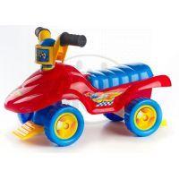 Teddies 00313966 - Odrážedlo Buggy ride-on - červené