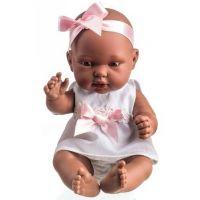 Panenka miminko vonící 26 cm - Černoška