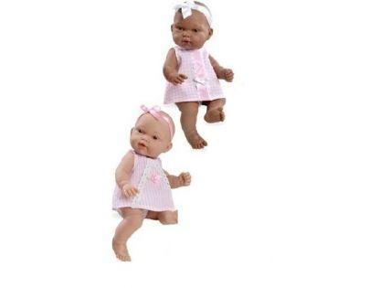 Panenka miminko vonící 26 cm - Růžové šaty