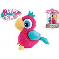 Papoušek Penny opakující slova