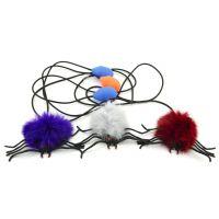 Teddies Pavouk skákající plyšový 7 cm