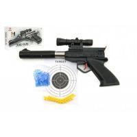 Pistole plastová na měkké a vodní kuličky o průměru 6 mm