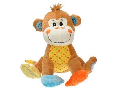 Plyšové zvířátko sedící 28 cm - Opice