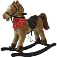 Plyšový houpací kůň na baterie se zvuky