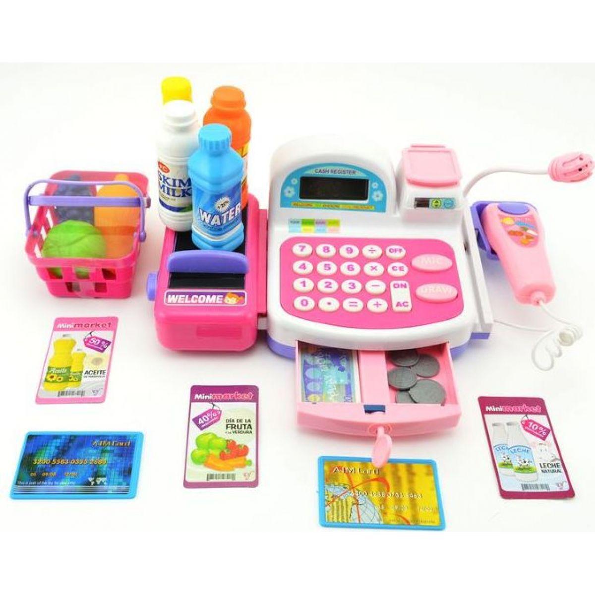 Pokladna digitální s nákupními doplňky