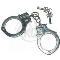 Teddies 00024330  - Policejní pouta kov na kartě