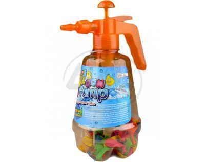 Pumpa a vodní bomby 100ks - Oranžová