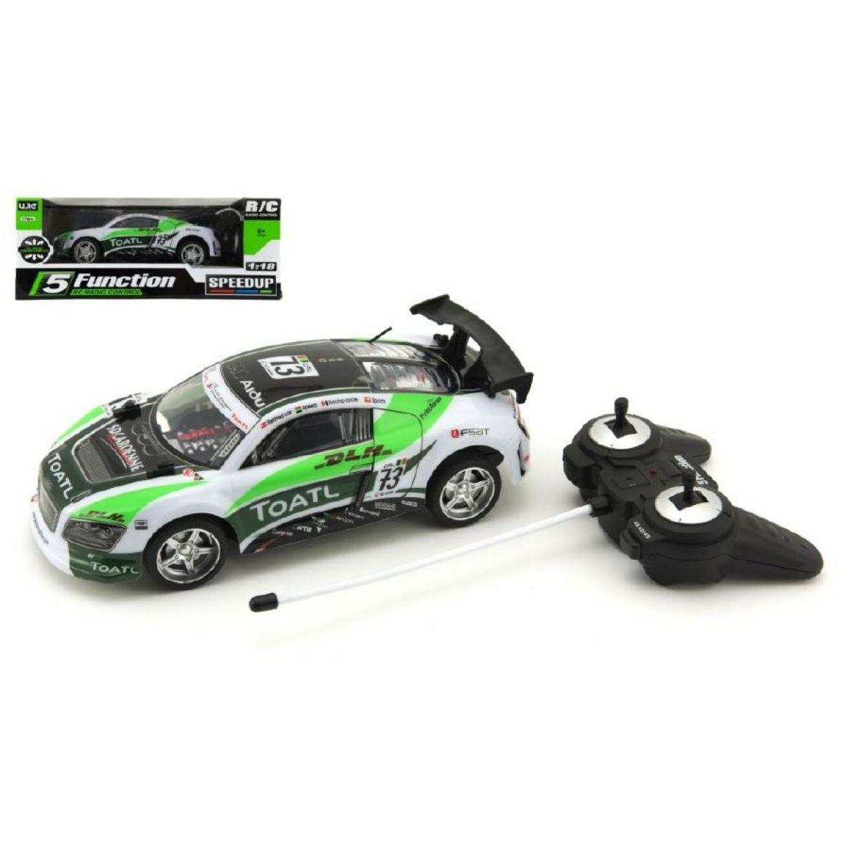 RC auto 25 cm zrychlující 1:18 na baterie 27 MHz TEDDIES