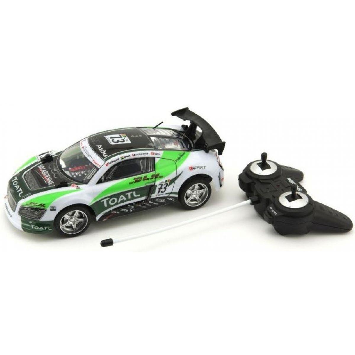 Teddies RC auto 25cm zrýchľujúce 1:18 na batérie 27MHz