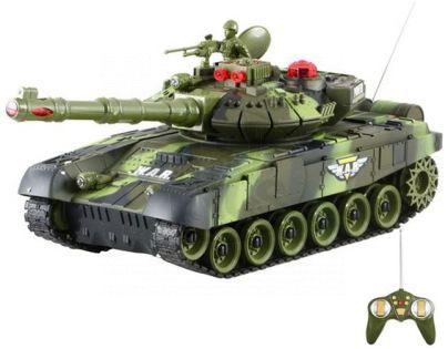 RC Tank - Zelený 27MHz