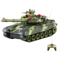 Teddies RC Tank - Zelený 27MHz - Poškozený obal