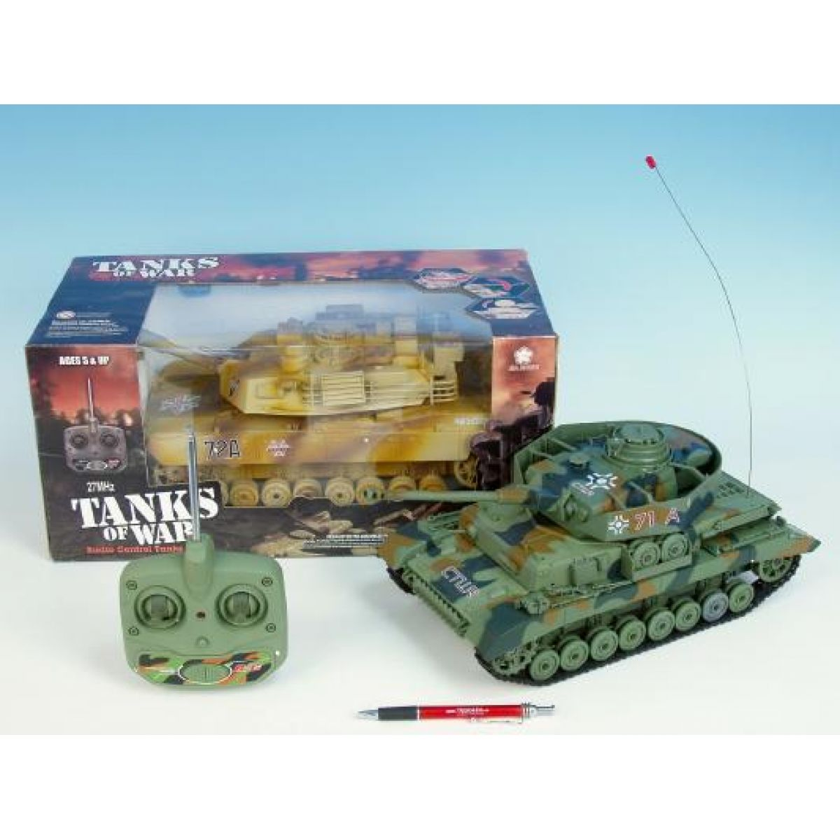 Teddies R/C Tank