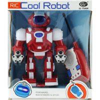 Teddies Robot na dálkové ovládání se světlem a zvukem - Červený 2