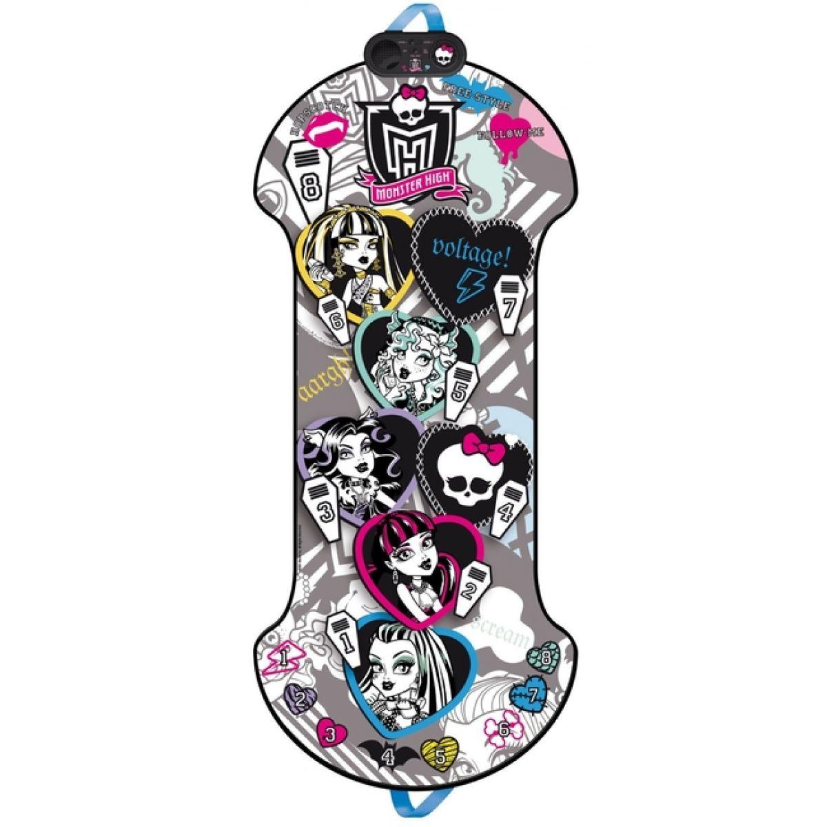 Skákací panák Monster High elektronická hra