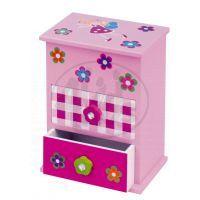 YUPEE 00100003 - Dřevěná skříňka se šuplíčkem