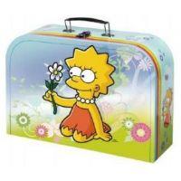 Teddies Školní kufřík Simpsovi 30 cm