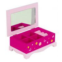 YUPEE 00100023 - Dřevěná šperkovnice Princess