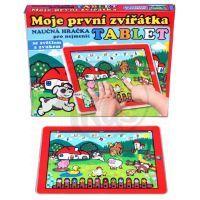 Teddies 56330200 - Tablet farma pro nejmenší Moje první zvířátka