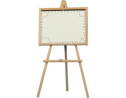 Teddies 16171004 - Tabule školní dřevo- 88x44cm, i pro psaní na fólii