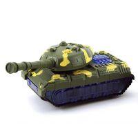 Tank narážecí plastový 20 cm Tmavě zelený maskáč