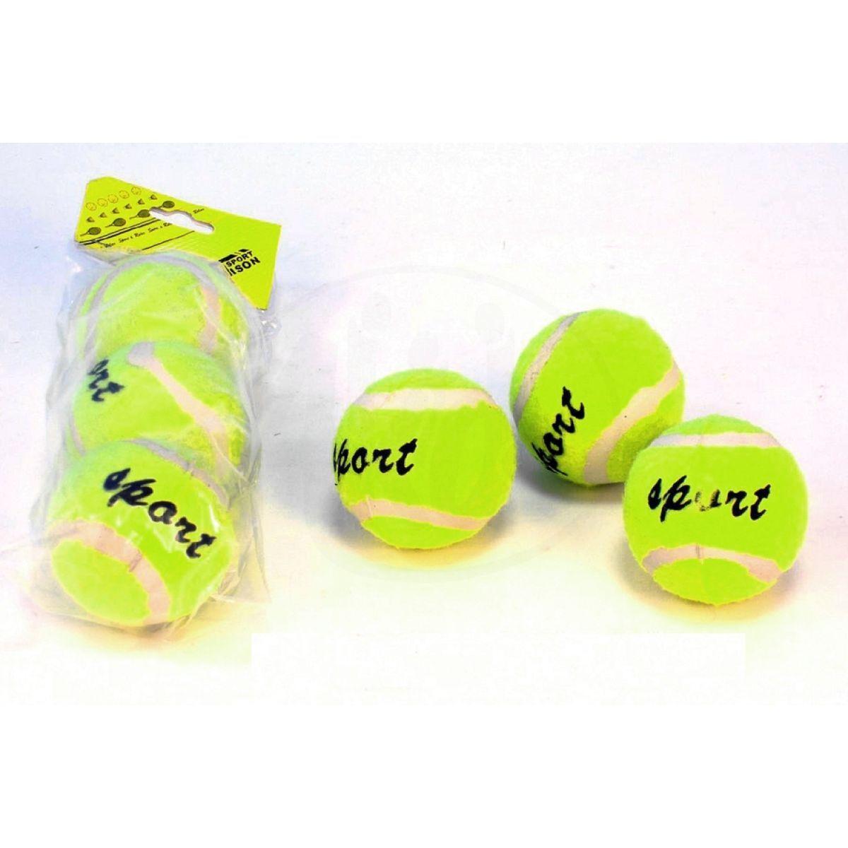Teddies Tenisové míčky Donnay 3ks v tubě
