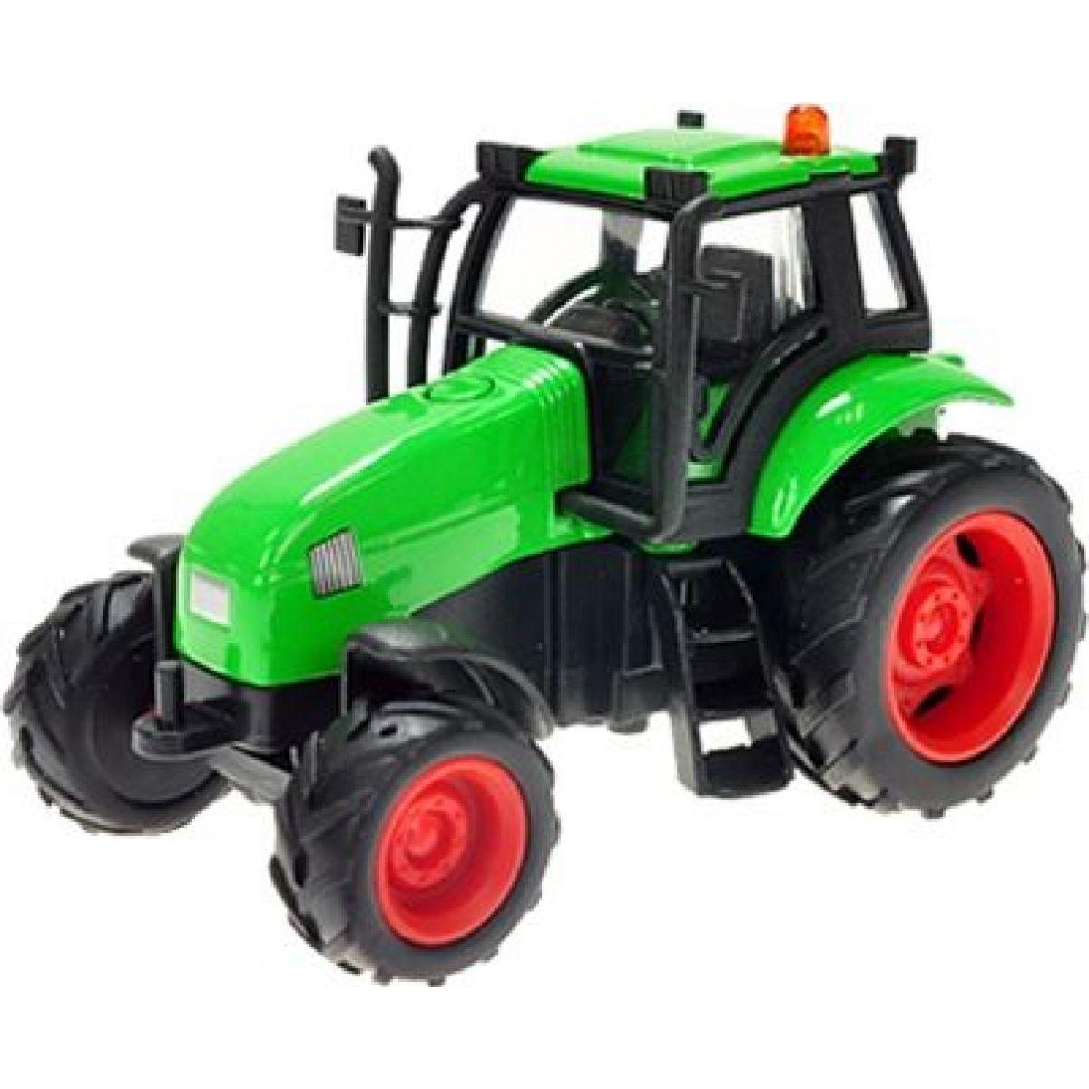 Kids Globe Traktor kov 12cm na setrvačník