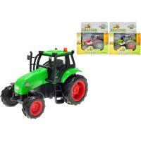 Kids Globe Traktor kov 12cm na setrvačník 2
