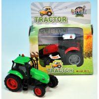 Kids Globe Traktor kov 12cm na setrvačník 3