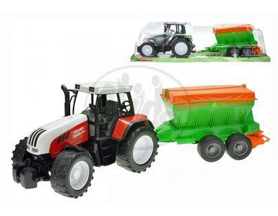 Traktor na setrvačník s rozmetadlem hnojiv 60cm