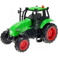 Kids GLOBE 65502 -  Traktor kov 12cm na setrvačník