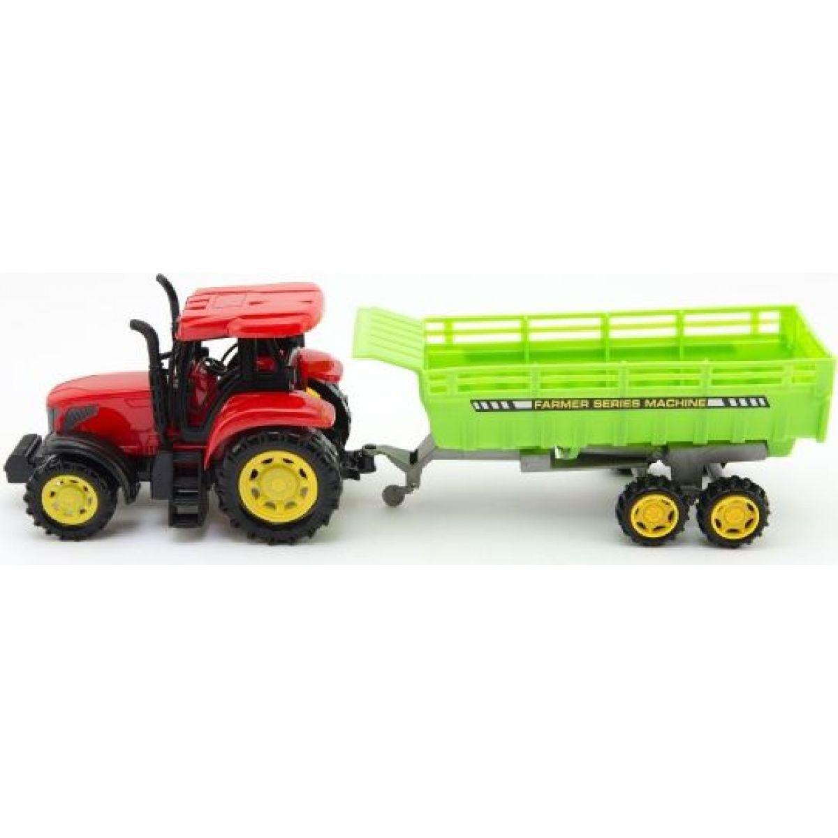 Traktor s vlečkou 35 cm