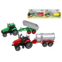 Traktor s vlečkou se světlem a zvukem 25 cm