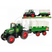MIKRO 60827 - Traktor s vlečkou 43cm