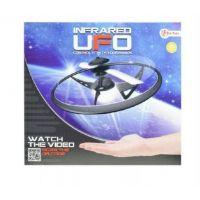 Ufo létající prstenec plast na baterie svítící