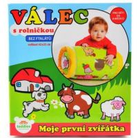 Teddies Valec s rolničkou nafukovacie - Moje prvé zvieratká 4