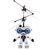 Vrtulník vesmírný letec 15 cm se senzorem - Černá