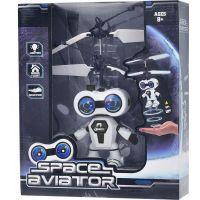 Vrtulník vesmírný letec 15 cm se senzorem - Černá 3