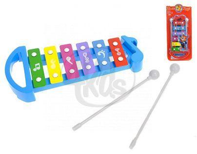 MIKRO 96639 - Xylofon 25cm 2 barvy